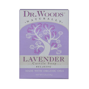Dr. Woods Exfoliating Lavender Bar Soap