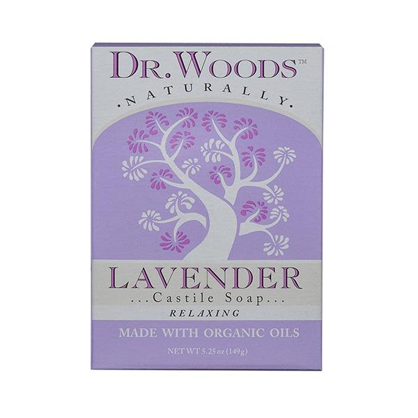 Dr. Woods Exfoliating Lavender Bar Soap